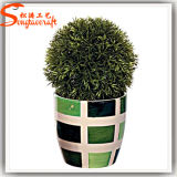 Cheap High Quality Artificial Small Potted Plant for Indoor Decoration