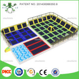 Trampoline Type Indoor Amusement Trampoline Park with Electronic Games