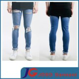Light Wash Stretch Knee Holes Men Skinny Rips Jeans (JC3341)