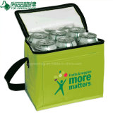 Insulated 6 Cans Insulated Shoulder Cooler Bag Waterproof Picnic Bag