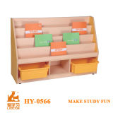 Artoon Design Kindergarten Wooden Furniture, Kids Toys Cabinet for Sale