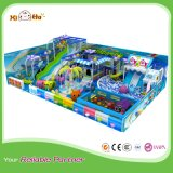 Indoor Preschool Playground Equipment with Big Slides for Entertainment