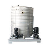 Stainless Steel Water Tank with Water Chiller