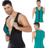 Helps in Burning Tummy Fat Warm Neoprene Slimming Vest with Zipper