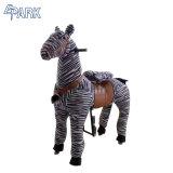 Kids Adult New Stuffed Toy on Wheel Mechanical Horse