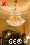 Chandelier with Crystal Decoration Attached