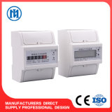Three-Phase Electric DIN Rail 3 Phase 4 Wire Kwh Meter
