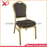 Antique Leather Banquet Dining Chair for Outdoor Hotel