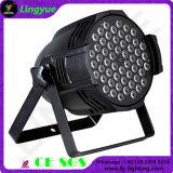 54PCS RGBW 3W LED PAR Can Disco DJ Lights