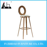 Bar Furniture Gold Stainless Steel High Bar Chair