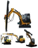 Pd 150 Hole Dia 110-155 mm Rock Drill Excavator Mounted Attachment