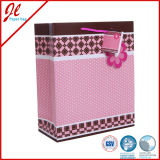 Fashion Wrapping Shopping Gift Packing Floral Paper Bag with String