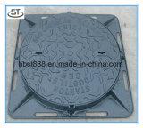 Ductile Iron 850--600mm Manhole Cover for Alegria