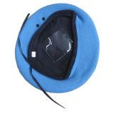 100% Wool Custom Blue Military Beret Cap Stock
