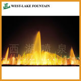 Beautiful Lighting Water Dancing Round Pool Fountain for People′s Square