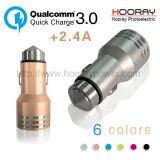 Qualcomm 3.0 Universal Car Charger USB Mobile QC3.0 Car Charger Alloy
