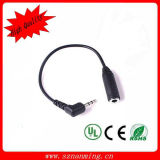 2.5mm Male to 3.5mm Female Audio Cable