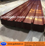 Corrugated Trapezoid PPGI Steel Roofing Sheet