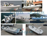 Liya 3.3-8.3m Long Inflatable Boat Rib Boat with CE Rowing Boat