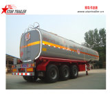 3 Axles 54cbm Carbon Steel Fuel Tanker Semitrailer