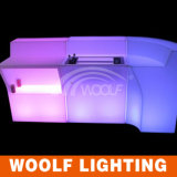 LED Lighted up Hotel Used Colored Decorative Bar