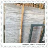 Greece Bianco Wooden Marble Slab