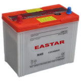 Japan Standard Ns60 12V 45ah Car Battery