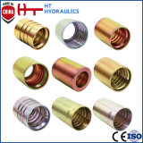 China Manufacturer SAE 1/4 to 2 Inch Hydraulic Fitting Hydraulic Hose Ferrule