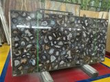 Unique and Hot Sale Black Agate Stone Slab