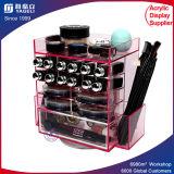 Fashion Luxury Acrylic Rotating Lipstick Holder Brush Holder