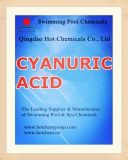 Cyanuric Acid Stabilizer Swimming Pool Chemicals CAS No 108-80-5