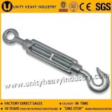 High Quality DIN 1480 Galvanized Hook and Eye Turnbuckle