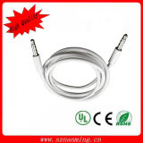 2014 Newest High Quality Stereo Audio Cable Aux Cable 3.5mm Cable with Copper Shell