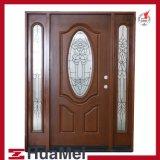 Fiberglass Door Woodgrain Texture Door and Door Skin-3 Panels FRP GRP SMC