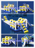 High Quality Airtight PVC Tarpaulin Inflatable Climbing Slide on Water (MIC-052)