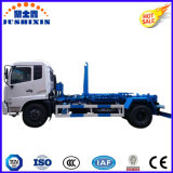 New Style Dongfeng 4X2 170HP 10m3 Hook Arm Refuse Truck