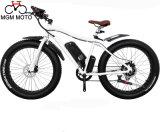 Beach Cruiser Wide Tire Mountain Electric Bicycle