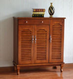 Solid Wood Porch Ark Cabinet with High Quality (M-X3026)