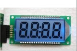 4 Digit Blue LCD Display Module (SMS0408E2)