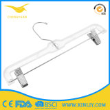 Cheap Clothes Hanger Pants Simple Design Plastic Hanger for Cloth Shop