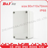 ABS Junction Box IP68, Grey Colour, Waterproof 80X110X70mm