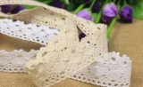 2.5cm One-Side Cotton Lace for Garment Accessories