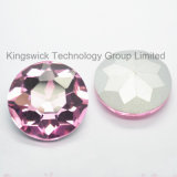 Pink Sew on Round Glass Beads for Wedding Dress Wholesale