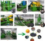 Rubber Crumb Production Line, Waste Tyre Recycling Machine