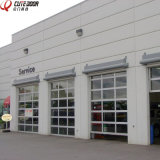 High Speed Residential Aluminum Sectional Frosted Glass Garage Door