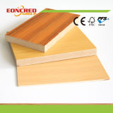 Wanult Color/Cherry Color Melamine Laminated MDF Board