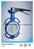 API DIN Casting Wafer Butterfly Valve with Full PTFE