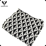 100%Acrylic Custom Design Triangle Knitting Pattern Winter Blanket