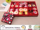 2015 New Season Design Wedding Cake Gift Towel Sets Df-2877