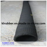 Abrasion Resistance Rubber Corrugated Surface Sandblasting Hose with Fabric Insert